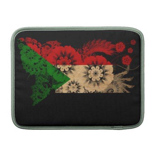 Sudan Flag MacBook Air Sleeves
