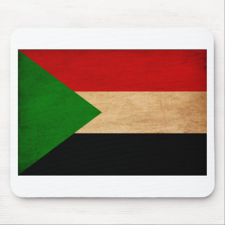 Sudan Flag Mouse Pad