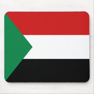 Sudan Flag Mousepad