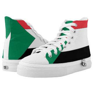 Sudan Flag -.png High-Top Sneakers