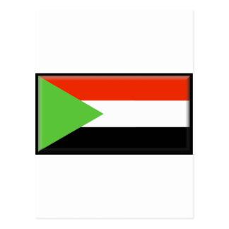 Sudan Flag Postcard