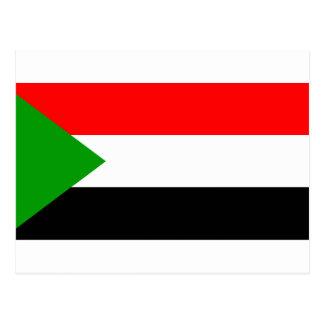 Sudan Flag Post Cards