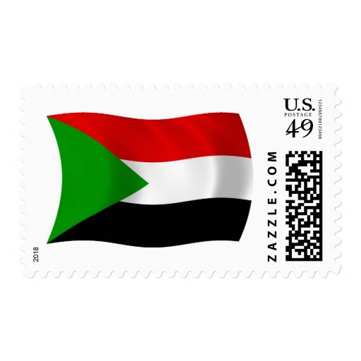 Sudan Flag Stamps