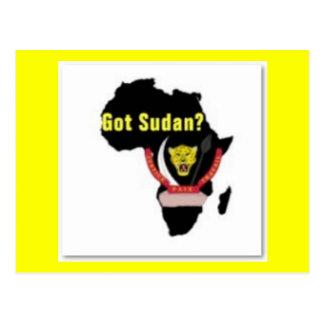 """Sudan"" Flag T-Shirt  And Etc Post Card"