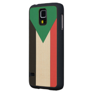 Sudan Flag Carved® Maple Galaxy S5 Case