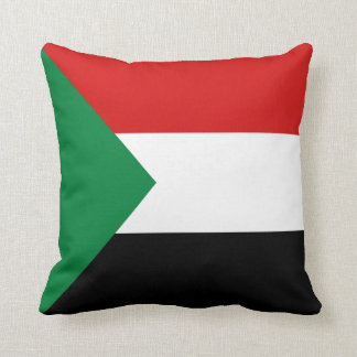 Sudan Flag x Flag Pillow