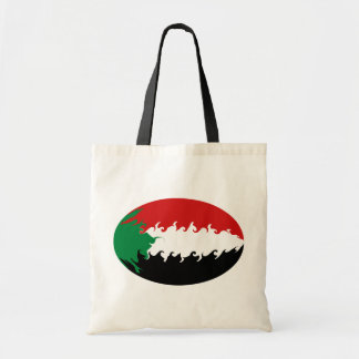 Sudan Gnarly Flag Bag Budget Tote Bag