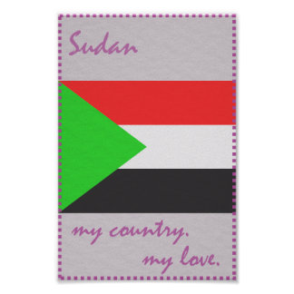 Sudan My Country My Love Poster
