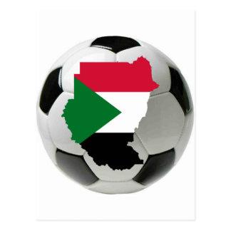 Sudan national team postcard