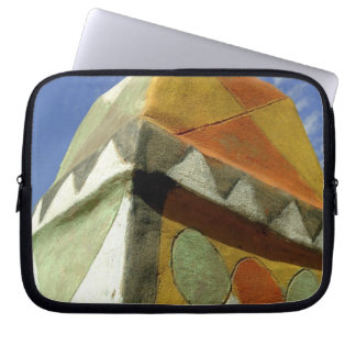 Sudan, North (Nubia), Decorated roof Laptop Sleeves