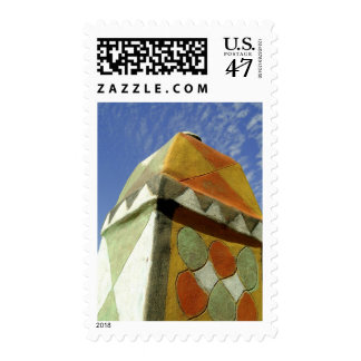 Sudan, North (Nubia), Decorated roof Postage Stamp