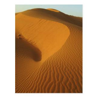 Sudan, North (Nubia), dunes in the desert Postcard
