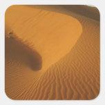 Sudan, North (Nubia), dunes in the desert Sticker