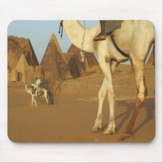 Sudan, North (Nubia), Meroe pyramids with Mouse Pad