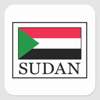 Sudan Square Sticker