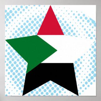 Sudan Star Poster