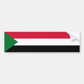 Sudan/Sudanese Flag Bumper Sticker