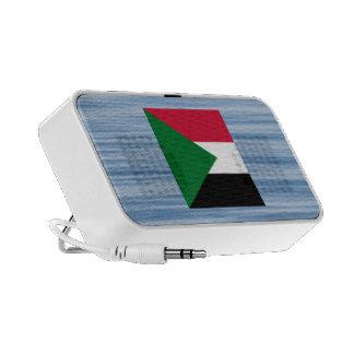 Sudanese Flag Floating on water Mp3 Speaker