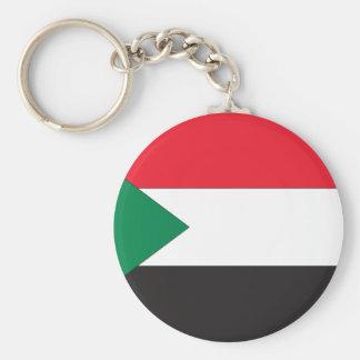 Sudanese Flag Key Chain