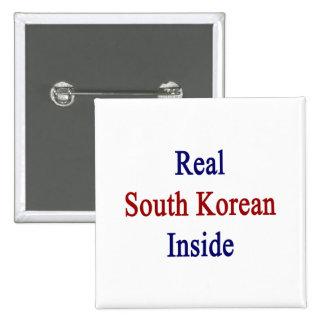 Sudcoreano real dentro pins