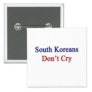 Sudcoreanos no lloran pins