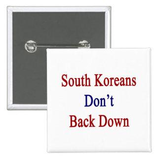 Sudcoreanos no retroceden pin