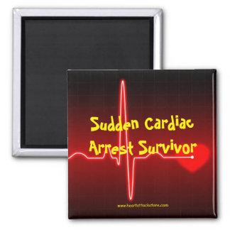 Sudden Cardiac Arrest Survivor Magnet