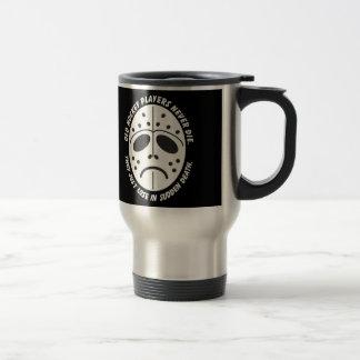 Sudden Death 15 Oz Stainless Steel Travel Mug