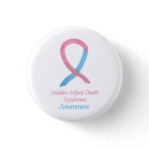 Sudden Infant Death (SIDS) Awareness Custom Pin