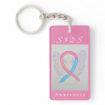 Sudden Infant Death Syndrome Awareness Keychain
