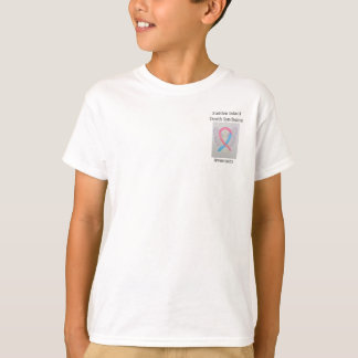 Sudden Infant Death Syndrome Awareness Ribbon Tee