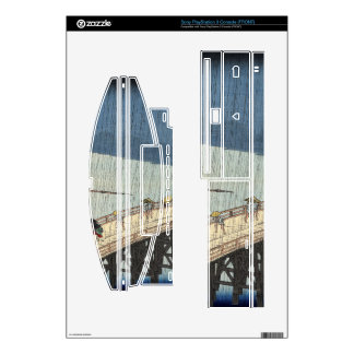 Sudden shower over Shin-Ōhashi bridge and Atake Decals For PS3 Console