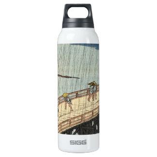 Sudden Shower over Shin-Ōhashi bridge and Atake (大 Insulated Water Bottle