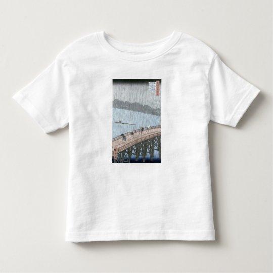 Sudden Shower over Shin-Ohashi Bridge and Toddler T-shirt