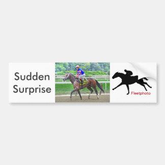 Sudden Surprise & John Velasquez Bumper Sticker