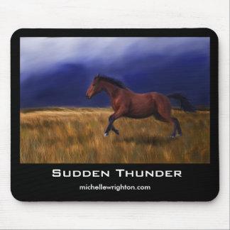 Sudden Thunder Horse Mousemat