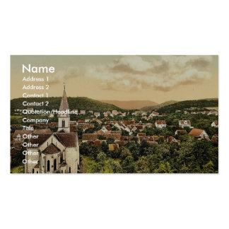 Suderode, Halle, Alemania Sajonia, Alemania Phot r Plantillas De Tarjetas De Visita