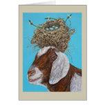 Sudie la tarjeta de la cabra