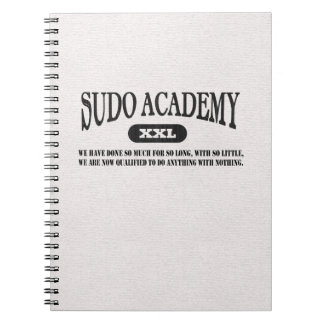 Sudo Academy Do Anything Notebook for Sys Admins