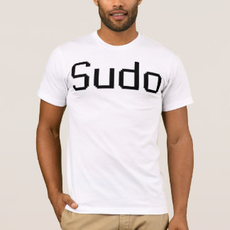 Sudo - camiseta para hombre