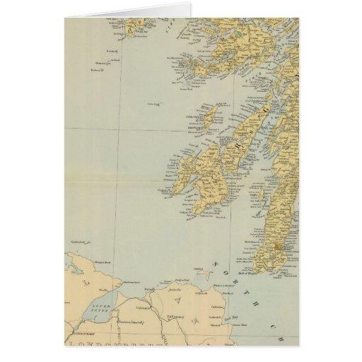 Sudoeste de Escocia Tarjeta De Felicitación
