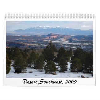 Sudoeste del desierto, 2009 calendarios
