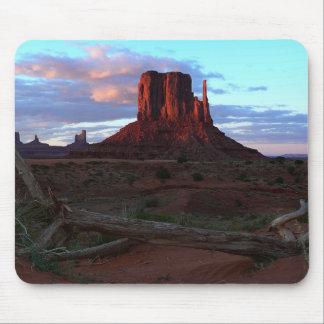 Sudoeste Mousepad del desierto del valle del monum