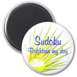 Sudoku aclara iman de frigorífico