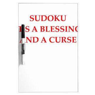 sudoku Dry-Erase board