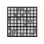Sudoku - enigma postal