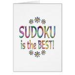 Sudoku es el mejor felicitación