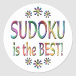 Sudoku es el mejor pegatina