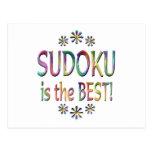Sudoku es el mejor tarjeta postal