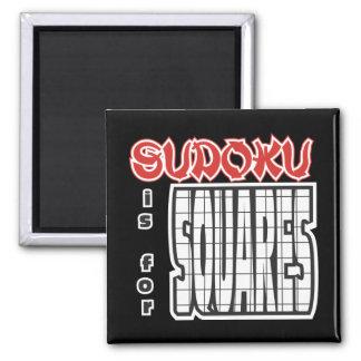 Sudoku está para los cuadrados imán
